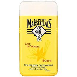 """Le Petit Marseillais гель для душа """"Ваниль"""" 250 мл + питательный крем для рук """"Карите сладкий миндаль и масло арганового дерева"""" 75 мл"""