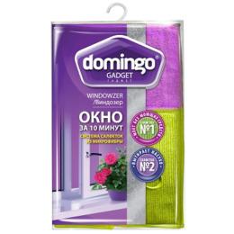 """Domingo салфетка """"Окно за 10 минут"""" из микрофибры"""