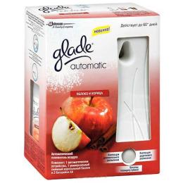 """Glade освежитель воздуха """"Automatik.Яблоко и корица """" основной блок"""