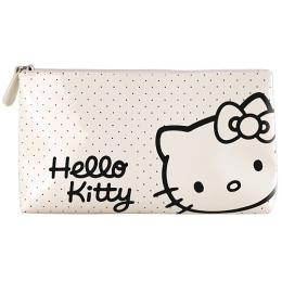 Hello Kitty косметичка глянцевая белая