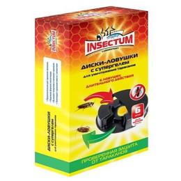 Insectum Laboratory диски-ловушки с гелем для уничтожения тараканов