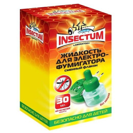 Insectum Laboratory жидкость от комаров для электрофумигатора 45 ночей