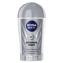 "Nivea антиперспирант для мужчин ""Серебряная защита"" стик, 40 мл"