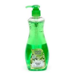 """Organic beauty мыло жидкое """"Деликатный уход"""" зеленый чай, пихта"""