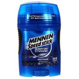 "Mennen дезодорант для мужчин ""Молния"" стик, 60 г"
