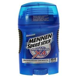 "Mennen дезодорант-антиперспирант для мужчин  ""Multi-protection X4"" стик, 50 г"