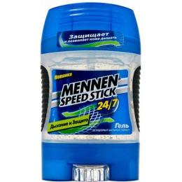 """Mennen дезодорант-антиперспирант для мужчин """"Дыхание и защита"""" гель, 85 г"""