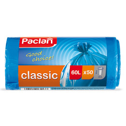 """Paclan мешки для мусора 60 л """"Classic"""" синие"""