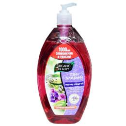 """Organic beauty пена для ванн """"Медуница и Белый чай"""" восстанавливающая"""