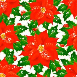 """Plushe салфетки """"Пуансеттия. Рождественник"""" 33 х 33 см, 3 слоя, 20 листов"""