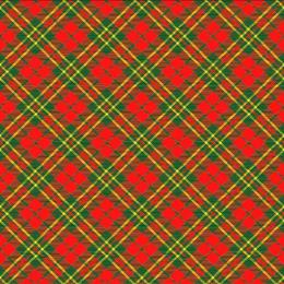 "Plushe салфетки ""Шотландка. Новогодняя клетка"" 33 х 33 см 3 слоя, 20 листов"