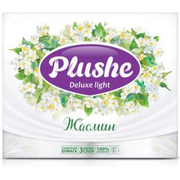 "Plushe туалетная бумага ""Deluxe Light. Жасмин"" 3 слоя"