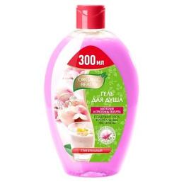 """Organic beauty гель для душа """"Магнолия и Протеины йогурта"""" для чувствительной кожи, питательный"""