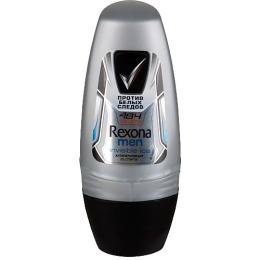 "Rexona антиперспирант для мужчин ""Invisible Ice"" ролик, 50 мл"