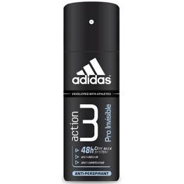"Adidas антиперспирант для мужчин ""Action 3 Pro Invisible"" спрей, 150 мл"