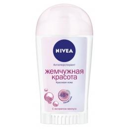 "Nivea антиперспирант для женщин ""Жемчужная красота. Pearl & Beauty"" стик, 40 мл"