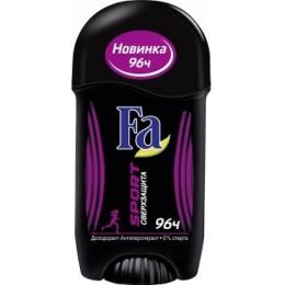 "Fa дезодорант-антиперспирант для женщин ""Sport Сверхзащита"" стик, 50 мл"