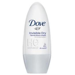 """Dove антиперспирант для женщин """"Невидимый"""" ролик, 50 мл"""