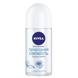 """Nivea антиперспирант для женщин """"Природная свежесть Фреш"""" ролик, 50 мл"""