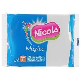"""Nicols губки """"Волшебные"""" без химических веществ, 2 шт"""