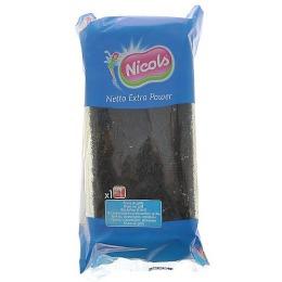 Nicols губка кухонная профилированная, 1 шт