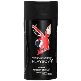 PlayBoy парфюмированный гель для душа и шампунь мужской, 250 мл