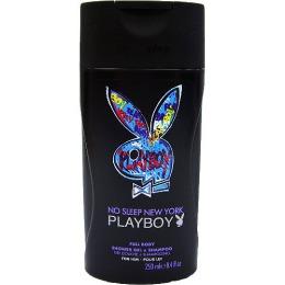 """PlayBoy парфюмированный гель для душа и шампунь """"No Sleep New York"""" мужской, 250 мл"""