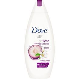 Dove крем-гель для душа слива и цветы сакуры, 250 мл