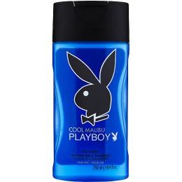 """PlayBoy гель для душа и шампунь """"Cool Malibu"""" мужской, 250 мл"""