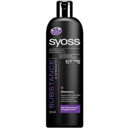"Syoss Шампунь ""Keratin Hair Perfection"" для сухих и безжизненных волос, 500мл"