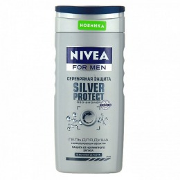 """Nivea гель для душа """"Серебряная защита"""", 250 мл"""