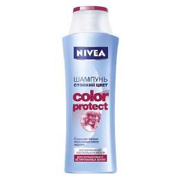Nivea Шампунь с ультрафиолетовым фильтром для окрашенных и мелированных волос.