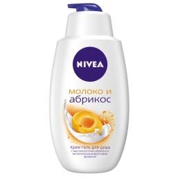 """Nivea гель для душа """"Молоко и абрикос"""", 750 мл"""