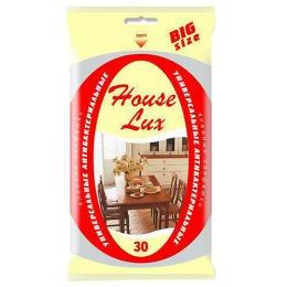 """House Lux салфетки влажные """"BigSize"""" антибактериальные, 30 шт"""