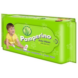 "Pamperino салфетки влажные ""Алоэ вера"", 80 шт"