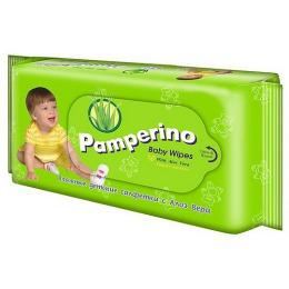 "Pamperino салфетки влажные ""Алоэ вера"", 50 шт"