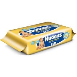 "Huggies салфетки влажные ""Extra Gentle"" детские, 64 шт"
