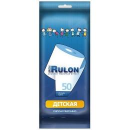 Mon Rulon влажная детская туалетная бумага, 50 шт
