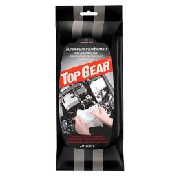 Top Gear салфетки влажные для рук с антибактериальным эффектом, 30 шт