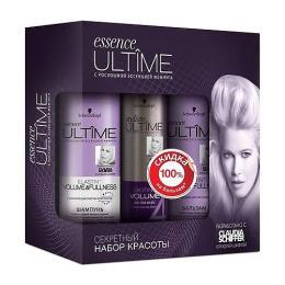 Essence Ultime набор шампунь Volume 250 мл + лак для волос 250 мл + бальзам 300 мл