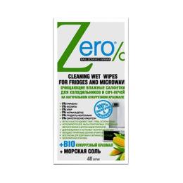 Zero салфетки для СВЧ-печей и холодильников влажные