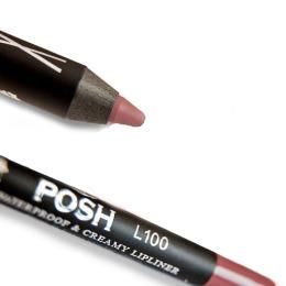 Posh карандаш для губ водостойкий  18 часов устойчивости
