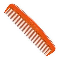 """Ellis Cosmetic расческа для волос """"RC 02O"""" карманная, оранжевая"""