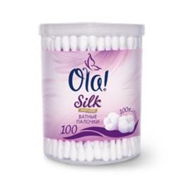 Silk Sense палочки ватные пластиковая упаковка, 100 шт