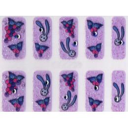 """Ellis Cosmetic наклейки для ногтей """"JXR09-15"""" 3D"""