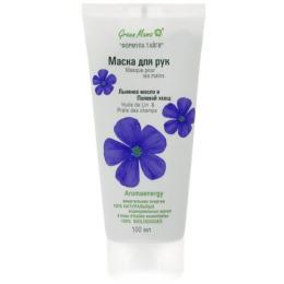 """Green Mama маска для рук """"Льняное масло и полевой хвощ"""""""