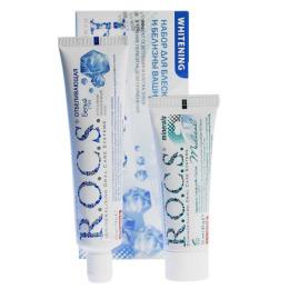 """R.O.C.S. набор """"Whitening"""" для блеска и белизны Зубов"""