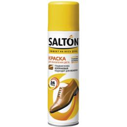 Salton краска для гладкой кожи, коричневая