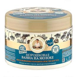 """Рецепты бабушки Агафьи ванна для тела """"На молоке. Морошковая"""" на соках, 500 мл"""