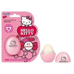 "Hello Kitty Бальзам для губ ""Baby lips"", 10 г"